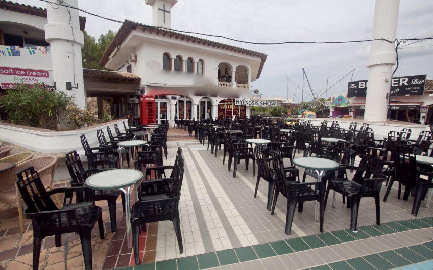 Large Cabaret Bar And Venue In Santa Ponsa For Sale
