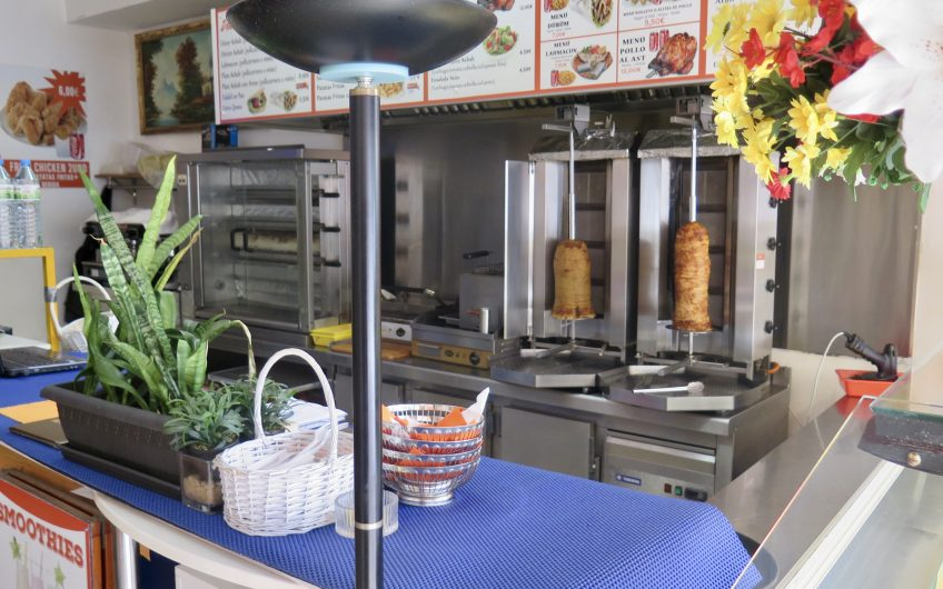 Kebab And Burger with Take Away in Pt Andratx For Sale