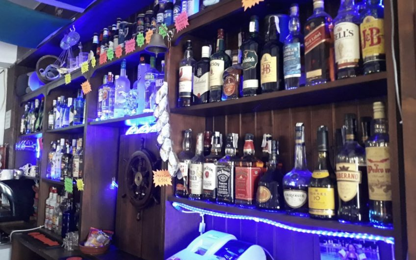 Great Nautical Themed International Bar Close To Palma For Sale